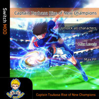 Captain Tsubasa:Rise of New Champions (Switch Mod)-Max PP/Level/Unlock character