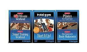 Total Gym 3 DVD Set