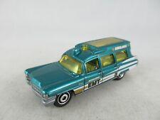 Matchbox Cadillac Ambulance green