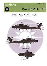 Bestfong Decals 1/144 BOEING AH-64E APACHE Attack Helicopter ROCAF