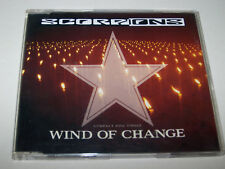 SCORPIONS - Wind of Change - (1991) - CD Single - Rock - VG Condition