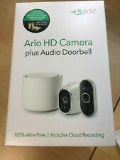 Arlo 720P HD Security Camera System with Audio Doorbell VMK3150 100NAS - NEW