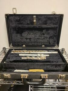 Selmer OMEGA flute - solid silver comes with case 15.75 troy oz of 90% silver