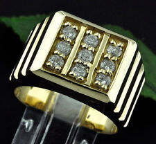 1.00 Ct Natural Diamond Solitaire Ring Solid 14k Yellow Gold