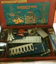 Vintage MECCANO ERECTOR SET Amusement Park #10-1/2  HTF Free Shipping