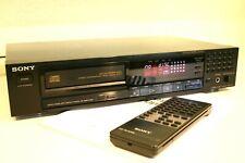 SONY CDP-770 Compact Disc Player CD-Player + Manual + Fernbedienung HighEnd