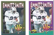 1994 Score Gold Zone Cowboys Emmitt Smith MVP 2 Insert Card Lot # 330