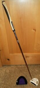 """PineMeadow PGX LH Putter Golf Club 34.5"""" steel shaft with Headcover GUC"""