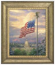 Thomas Kinkade America's Pride 16 x 20 Brushstroke Vignette (Choice of Frame)