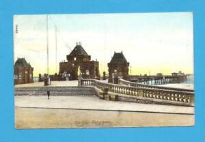 The Pier, Skegness, Lincolnshire. Postcard. 1905.