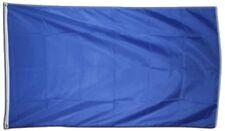 Fahne Einfarbig Blau Flagge blaue Hissflagge 90x150cm