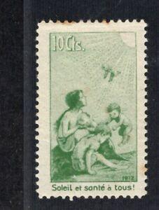 Switzerland Semi-postal Precursor Mint VFH, CV ?, see desc.