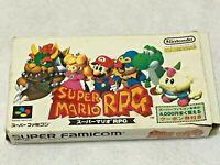 Super Mario RPG Nintendo SFC Super Famicom SNES NTSC-J Japan CIB JP w Box Manual