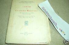 F.Landogna:Corso Cultura militare,insegnamento scuole medie 1937 ed.Morano A70