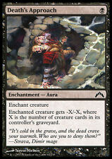 MTG 4x DEATH's APPROACH - LA MORTE SI AVVICINA - GTC - MAGIC