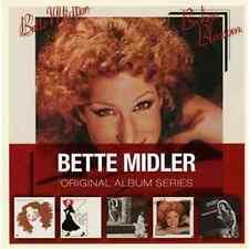 BETTE MIDLER 5CD NEW Divine Miss M/B.M./Songs For New/Broken Blossom/The Rose