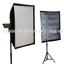"32""x48"" SOFT BOX SOFTBOX + GRID+ SPEEDRING FOR ALIENBEES ALIEN BEES B400 B1600"