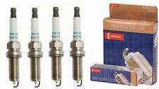 Honda Accord 2.4L 2013-2015 Set of 4 Spark Plugs Denso Iridium DXE22HQR D11S New