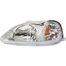 For Civic 99-00, Driver Side Headlight, Clear Lens