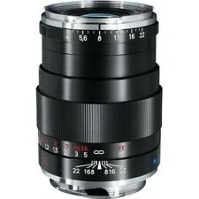Brand New Carl Zeiss Tele-Tessar T* 85mm F4 ZM Lens Black Leica M M10 M9 M8.2