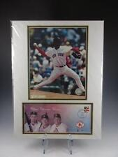 BOSTON RED SOX 2003 First Day Cover w Pedro Martinez ~ Matted Photo & Envelope