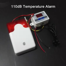 12V DC Refrigerator Cold Storage Freezer Hatchery Thermometer Temperature Alarm