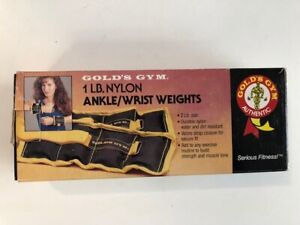2 Lb. Pair Gold's Gym Ankle/Wrist Weights  NEW