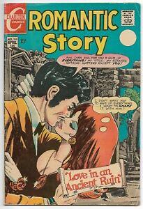 """Romantic Story #106 (Charlton, 1970) – """"For Richer or Poorer"""" – Romance - VG/FN"""