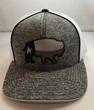 Red Dirt Hat Texas Buffalo Patch Trucker Rode Hat