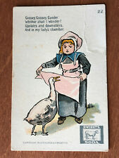 John Dwight's Cow Brand Soda Trading Cards – Mother Goose Series, No.22 – 1900