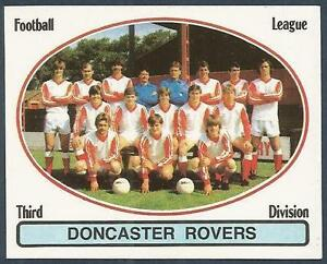 PANINI FOOTBALL 82 #388-DONCASTER ROVERS TEAM PHOTO