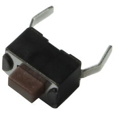 10 Diptronics DTS-32N-V-B Mini-Taster 12V 50mA 1xEIN 1,6N 5mm liegend 855603