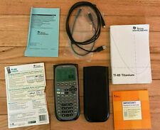 TI-89 Titanium Graphing Calculator Texas Instruments TI89 Titanium Graphic