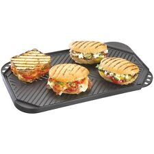 Barbecue Genius Non Stick Cast Aluminum Griddle for Gas or Charcoal Grills 19452