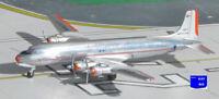 Aeroclassics ACN90751 American Airlines Douglas DC-6B N90751 Diecast 1/400 Model