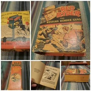 Red Ryder and the Western Border Guns Better Little Book 1942 Book #1450