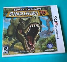 Combat of Giants: Dinosaurs 3D (Nintendo 3DS, 2011) Factory Sealed