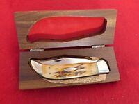 Case XX USA 5172 mint in box STAG Bulldog clasp knife