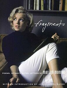 Fragments: Poems, Intimate Notes, Letters by Marilyn Monroe Hardback Book The