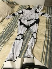 NWT Rubie's Star Wars H/S Storm Trooper Costume Adult Large Jumpsuit + Mask