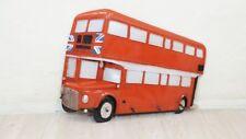 Garderobe Wandgarderobe England rot Metall London Doppeldecker Bus Vintage 3D