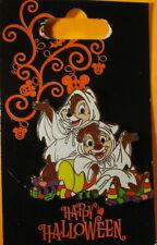 WDW Walt Disney World 2010 HALLOWEEN Chip N Dale PIN New on Card - PP #78576