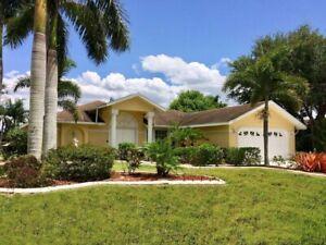 Ferienhaus mit Pool zu mieten Cape Coral Florida, 1 Woche bis 4 Pers. WLAN free