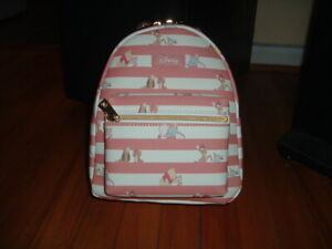 LOUNGEFLY DISNEY BFF'S MINI BACKPACK~ WITH TAGS~BRAND NEW~