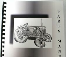 International Farmall A Implements Parts Manual