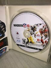 EA Sports Madden NFL 10 for Sony PlayStation 3, 2008 Video Game Rated Everyone