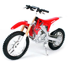 Red Honda CRF450R 1:18 Dirt Motorbike Motorcycles Kids Model Diecast Toy Bike