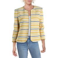 Anne Klein Womens Yellow Jacket Blazer 6 BHFO 0029