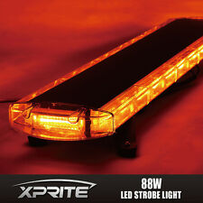 "New 88 LED COB Amber  47"" Inch 28 Modes Rooftop Emergency Strobe LED Light Bar"