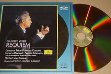 Verdi Requiem - Price Pavarotti Karajan Milano - DGG  LaserDisc